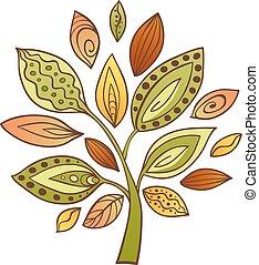 Decorative abstract tree