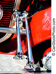 Decorative air horn on the car