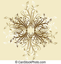 Decorative backgroun - Hand drawn decorative background