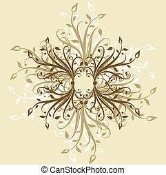 Decorative backgroun - Hand drawn decorative background