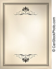 Decorative background - Decorative design background using ...