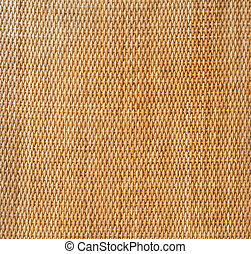 decorative background of brown handicraft weave texture...