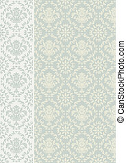 Decorative background vector Floral