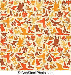 decorative bird background