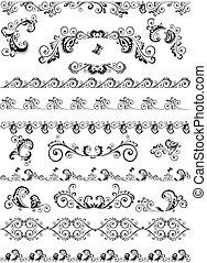 Decorative border and design elemen