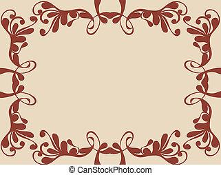 Decorative border - Decorative background