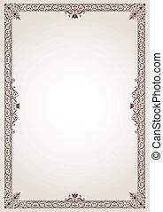 Decorative Border Frame