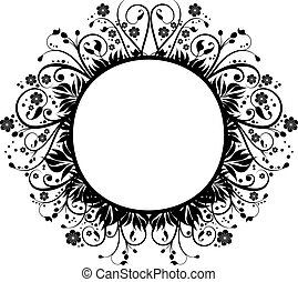 Decorative border - Hand drawn decorative border