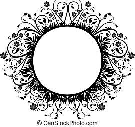 Decorative border - Hand drawn decorative border