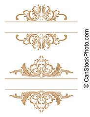 decorative border - vector decorative frame