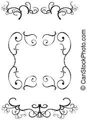 Ornate decorative borders
