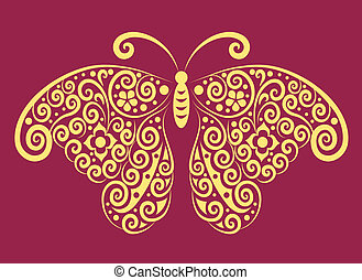 Decorative butterfly 3