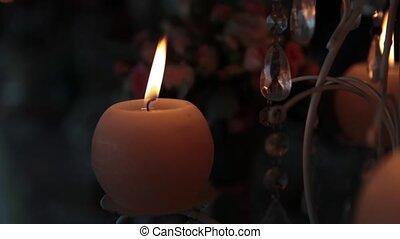 decorative candles Full HD