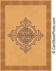 Decorative celtic frame