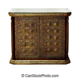 Decorative chest of drawers