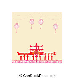 Decorative Chinese Background