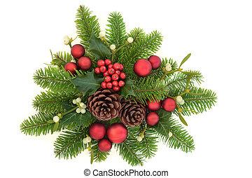 Decorative Christmas Greenery