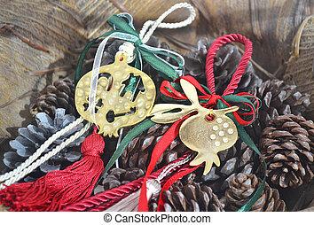 decorative christmas lucky charm