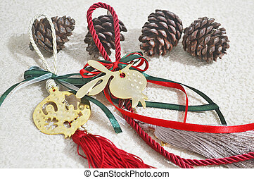 decorative christmas lucky charms