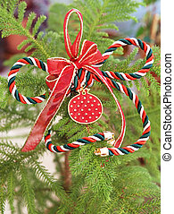 decorative Christmas ornament with lucky pomegranate