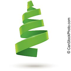 Decorative Christmas tree.