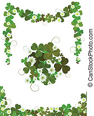 Decorative clover design