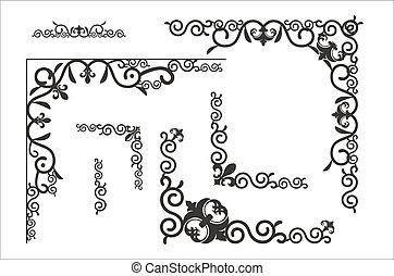 decorative corner