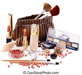 Decorative cosmetics.