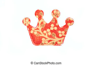 crown isolated on white background.