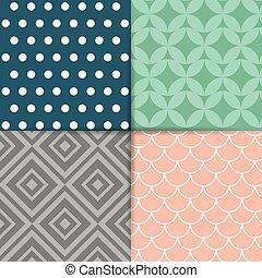 Decorative design. - Colorful decorative cards background...