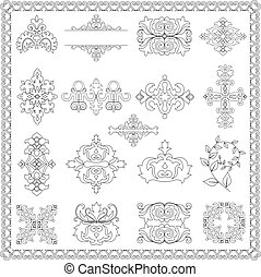 decorative design elements (line)