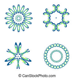 Decorative design elements.
