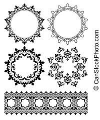 decorative design elements - vector