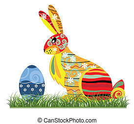 Decorative Easter bunny