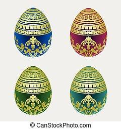 Decorative easter egg colection
