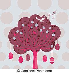 Decorative Easter Tree