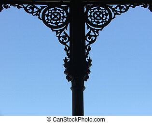 Decorative edging - Decorative cast iron edging