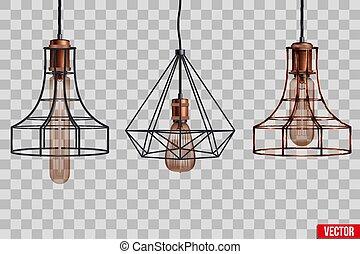 Decorative edison light bulb wire shade - Decorative edison ...
