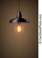 Decorative edison light bulb with chandelier - Decorative ...