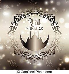 Decorative Eid background