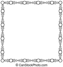 Decorative elegant frame