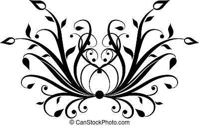 Decorative element - Hand drawn decorative element