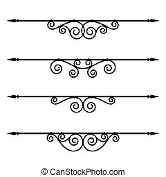 decorative elements, border and page rules