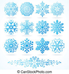decorative elements, winter