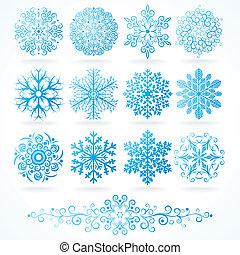 decorative elements, winter