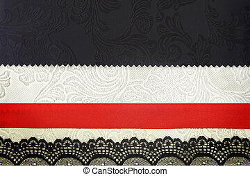 Decorative fabric background. Scrapbook, photobook concept
