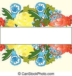 Decorative floral background - Background decorative...