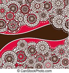 decorative folk background