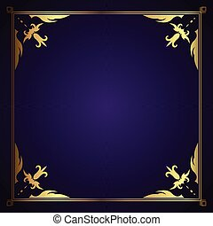 decorative frame 0307
