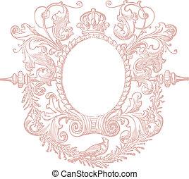 Decorative Frame - Beautiful decorative floral frame, art ...